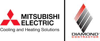 Mitsubishi Dealer Diamond Contractor Logo